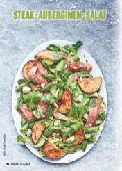 Rezept - Steak-Auberginen-Salat - Simply Kochen Mediterran 05/2018