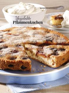 Rezept - Umgedrehter Pflaumenkuchen - Simply Kreativ Äpfel-und Pflaumen-Rezepte für den Thermomix® 05/2018