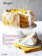 Rezept - Zitronen-Baiser-Torte - Das große Backen - 09/2018