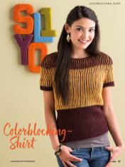 Strickanleitung - Colorblocking-Shirt - Simply Kreativ Brioche-Guide