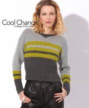 Strickanleitung - Cool Change - College Pullover - Designer Knitting 05/2018