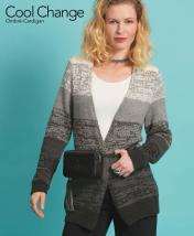 Strickanleitung - Cool Change - Ombré Cardigan - Designer Knitting 05/2018