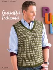 Strickanleitung - Gestreifter Pullunder - Simply Kreativ Brioche-Guide
