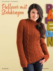 Strickanleitung - Pullover mit Stehkragen - Simply Kreativ Brioche-Guide