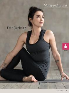 Yoga-Anleitung - Der Drehsitz - Yoga - der große Guide - 01/2018