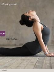 Yoga-Anleitung - Die Kobra - Yoga - der große Guide - 01/2018