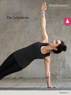 Yoga-Anleitung - Die Seitplanke - Yoga - der große Guide - 01/2018