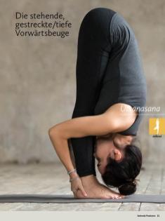 Yoga-Anleitung - Die stehende gestreckte tiefe Vorwärtsbeuge - Yoga - der große Guide - 01/2018