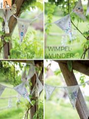 Nähanleitung - Wimpel Wunder - Simply Kreativ - 04/2018
