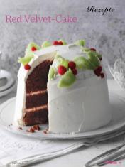 Rezept - Red Velvet Cake - Das große Backen - 10/2018