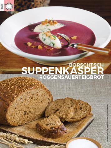 Rezept - Suppenkasper - Borschtsch & Roggensauerteigbrot - Simply Kreativ - 04/2018