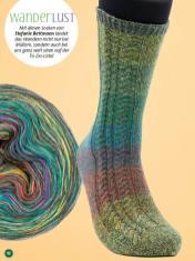 Strickanleitung - WanderLust - Simply kreativ - Stricken mit Farbverlaufsbobbeln - 02/2018
