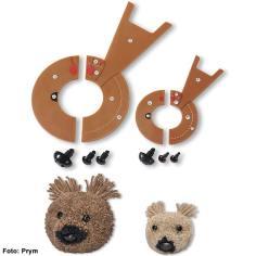 Prym Pompom-Schablonen – Bär