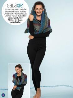 Häkelanleitung - Galaxie - Simply Kreativ Häkeln mit Farbverlaufs-Bobbeln Vol. 1 - 01/2019