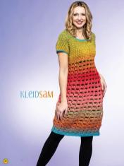 Häkelanleitung - Kleidsam - Simply Kreativ Häkeln mit Farbverlaufs-Bobbeln Vol. 2 Heft 02/2019
