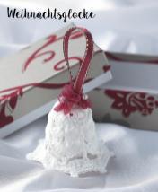 Häkelanleitung - Weihnachtsglocke - Mini Weihnachts-Deko Häkeln Vol. 5