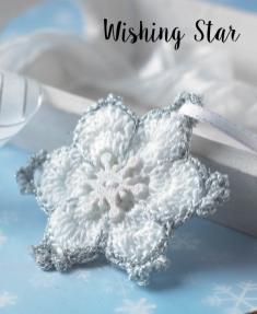 Häkelanleitung - Wishing Star - Mini Weihnachts-Deko Häkeln Vol. 5
