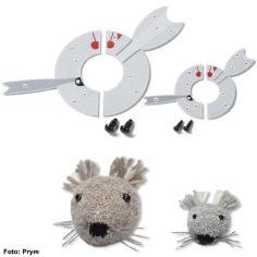 Prym Pompom-Schablonen – Maus