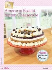 Rezept - American Peanutbutter-Cheesecake - Das grosse Backen - 11/2018