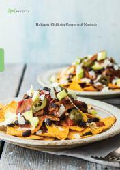 Rezept - Bohnen-Chili sin Carne mit Nachos - Simply Kreativ - Vegan-Guide 01/2019