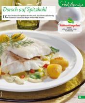 Rezept - Dorsch auf Spitzkohl - Simply Kochen mini – Rezepte für den Thermomix® 06/2018