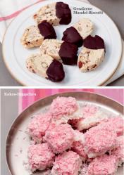 Rezept - Gesalzene Mandel-Biscotti / Kokos-Häppchen - Simply Kreativ - Vegan-Guide 01/2019