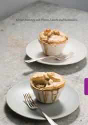 Rezept - Kleine Pasteten mit Pilzen, Lauch und Kastanien - Simply Kreativ - Vegan-Guide 01/2019