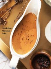 Rezept - Truthahn-Maronen-Soße - Simply Kreativ Sonderheft Weihnachtsrezepte 01/2019