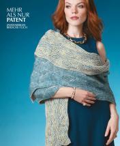 Strickanleitung - Mehr Als nur Patent - Zweifarbiges Brioche-Tuch - Designer Knitting 01/2019