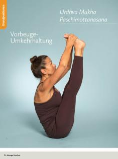 Yoga Anleitung - Urdhva Mukha Paschimottanasana - Sportplaner - Yoga Guide 01/2019