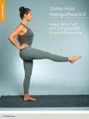 Yoga Anleitung - Utthita Hasta Padangusthasana D - Sportplaner - Yoga Guide 01/2019