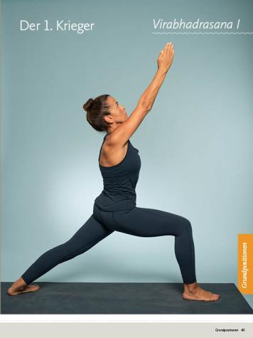 Yoga Anleitung - Virabhadrasana I - Sportplaner - Yoga Guide 01/2019