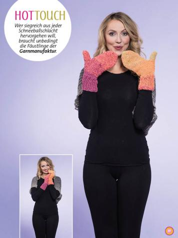 Strickanleitung - Hot Touch - Stricken mit Farbverlaufsbobbeln Vol. 3 - 01/2019