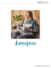 Häkelanleitung - Kaminfeuer - Simply Häkeln 01/2019