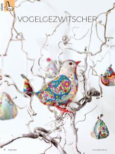 Häkelanleitung - Vogelgezwitscher - Simply Kreativ - 01/2019