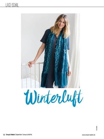 Häkelanleitung - Winterluft - Simply Häkeln 01/2019