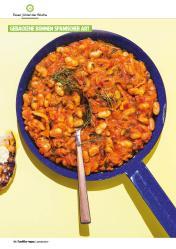 Rezept - Gebackene Bohnen spanischer Art - Healthy Vegan 01/2019