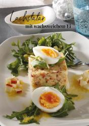 Rezept - Lachstatar mit wachsweichem Ei - Simply Kreativ Extra – Leckere Ideen für den Thermomix® 01/19