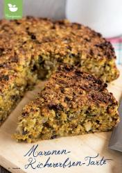Rezept - Maronen-Kichererbsen-Tarte - Simply Kreativ Superfood 01/2019