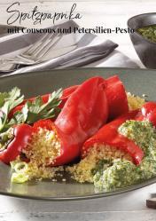 Rezept - Spitzpaprika mit Couscous und Petersilien-Pesto - Simply Kreativ Extra – Leckere Ideen für den Thermomix® 01/19