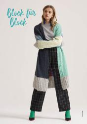 Strickanleitung - Color Blocking Cardigan