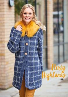 Strickanleitung - Flirty Highlands - Simply Stricken 01/2019