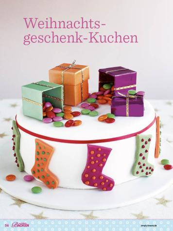 Rezept - Weihnachtsgeschenk-Kuchen - Das große Backen - 12/2018