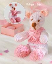 Häkelanleitung - Babybär Lola - Mini Häkeln Vol.6 – Teddybären 01/2019