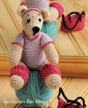 Häkelanleitung - Sportlicher Bär Mazzy - Mini Häkeln Vol.6 – Teddybären 01/2019