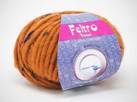 Feltro Tweed (Farbe 653-Karamell)