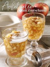 Rezept - Apfelgelee mit Zimtschaum - Simply Kreativ Thermomix® Diät Special 01/2019