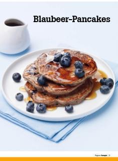 Rezept - Blaubeer-Pancakes - Healthy Vegan Sonderheft - Vegan - 01/2019