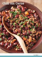 Rezept - Chili sin Carne - Healthy Vegan Sonderheft - Vegan - 01/2019