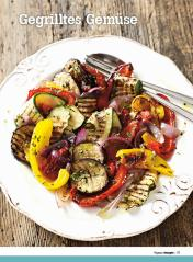 Rezept - Gegrilltes Gemüse - Healthy Vegan Sonderheft - Vegan - 01/2019
